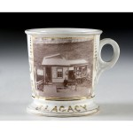 Photographic Bicycle Shop Shaving Mug