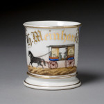 Milk Wagon Shaving Mug