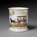Milk Wagon Shaving Mug