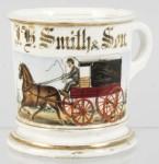 Grocer Wagon Shaving Mug