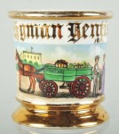 Produce Wagon Shaving Mug