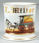 Furniture Delivery Wagon Shaving Mug