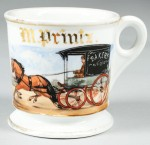 Bakery Wagon Shaving Mug