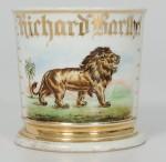 Lion Shaving Mug