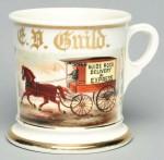 Express Delivery Wagon Shaving Mug