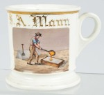 Steel Puddler Shaving Mug