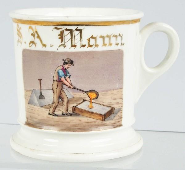 antique shaving mugs essay