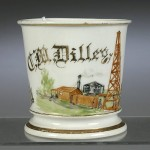 Oil Drilling Shaving Mug