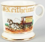 Liquor Wagon Shaving Mug