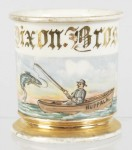 Fishing Man Shaving Mug