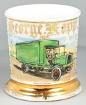 Delivery Truck Shaving Mug