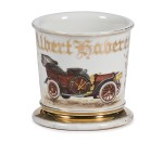 Early Automobile Shaving Mug