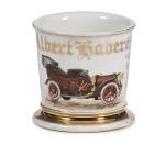 Early Automobile Shaving Mug