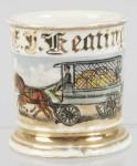 American Railway Express Delivery Van Shaving Mug