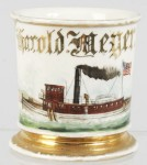 Tugboat Shaving Mug