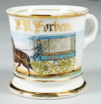 Us Mail Wagon Shaving Mug