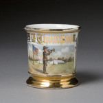 Military Bugler Shaving Mug