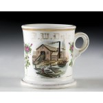 Lumber Mill Shaving Mug