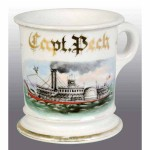 Riverboat Shaving Mug