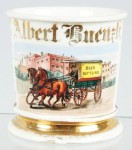 Beer Bottling Wagon Shaving Mug
