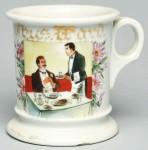 Waiter Shaving Mug
