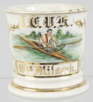 Man In Kayak Shaving Mug