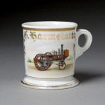 Steam Tractor Shaving Mug