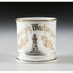 Lighthouse Shaving Mug