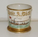 Steam Boat Shaving Mug
