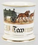 Standard Oil Co. Wagon Shaving Mug