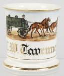 Standard Oil Co. Wagon Shaving Mug