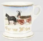 Anheuser-Busch Wagon Shaving Mug