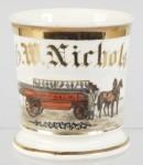 Fireman's Wagon Shaving Mug