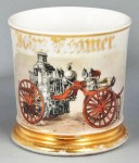 Steam Fire Engine Shaving Mug