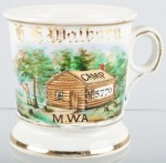 Modern Woodmen of America Shaving Mug