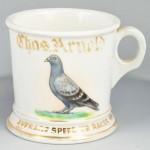 Pigeon Shaving Mug