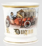 Race Car Driver Shaving Mug