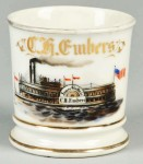 Paddlewheel Steamer Shaving Mug