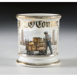 Railroad Porter's Shaving Mug