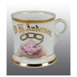 Ice Cream & Odd Fellows Shaving Mug
