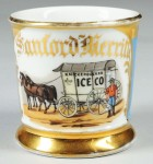 Ice Wagon Shaving Mug