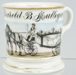 Horse-Drawn Hearse Shaving Mug