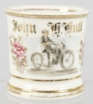 Motorcyclist Shaving Mug