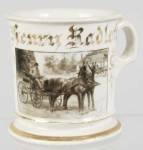 Photographic Wagon Shaving Mug