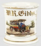 Touring Bus Shaving Mug