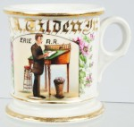 Erie Railroad Clerk Shaving Mug