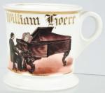 Pianist Shaving Mug
