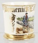 Bicycle Shaving Mug