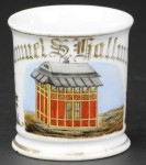Trolley Station Shaving Mug