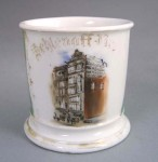 Factory Building Shaving Mug